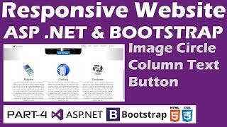 Download Responsive Website - ASP & Bootstrap - Part 4 - Image Circle, Columns, Thumbnails Video