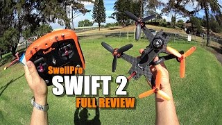 Download SWELLPRO SWIFT 2 RTF FPV Race Drone Review - [UnBox, Inspection, Flight/Crash Test, Pros & Cons] Video