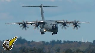 Download Royal Air Force Airbus A400 Arrives in New Zealand Video