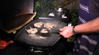Download Char-grilled Marinated Quail - Two Fat Brothers Video