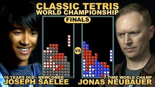 Download 16 Y/O UNDERDOG vs. 7-TIME CHAMP - Classic Tetris World Championship 2018 Final Round Video