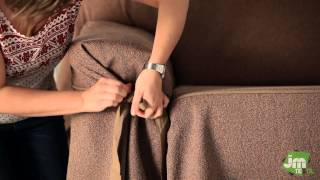 Download How to Put an Elegant Fitted Sofa Cover Video