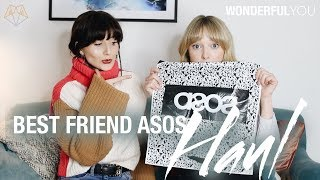 Download BEST FRIEND DOES MY ASOS HAUL! | Wonderful You Video
