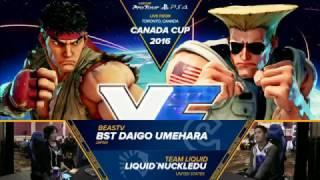 Download SFV: Canada Cup 2016 - BST Daigo Umehara vs Liquid'NuckleDu - CPT2016 Video