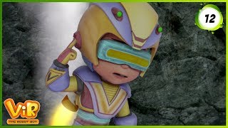 Download Vir: The Robot Boy | Volcano | Action Show for Kids | 3D cartoons Video