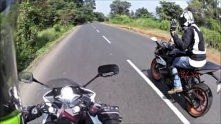 Download KTM RC 200 vs Honda CBR 250R | Which one to buy| ft. Road runner | comparison review Video