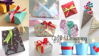 Download 10 Fantastic Gift Wrap Ideas | Paper Crafts | Compilation Video