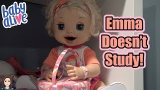 Download Baby Alive Emma Doesn't Study! | Kelli Maple Video