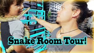 Download SNAKE ROOM TOUR Video