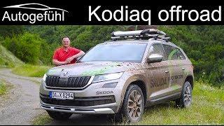 Download Skoda Kodiaq Scout FULL OFFROAD REVIEW 2019 @ Skoda Euro Trek - Autogefühl Video