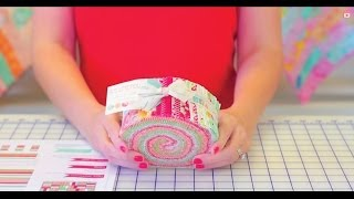 Download Jelly Roll Jam - Shortcut Quilt Series - Fat Quarter Shop Video