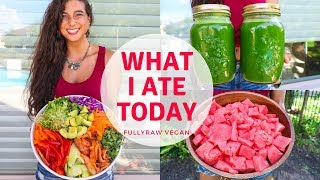 Download WHAT I ATE TODAY | Raw Vegan Summer Recipes...Tea & Shrooms? Video