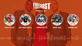 Download First Things First audio podcast(1.16.19) Cris Carter, Nick Wright, Jenna Wolfe   FIRST THINGS FIRST Video
