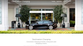Download Tesla Destination Chargers Video