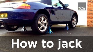Download How to jack / lift a car correctly (Step by step guide) | Road & Race S01E03 Video