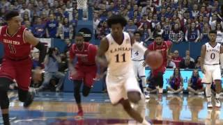 Download Josh Jackson Big 12 Newcomer of the Week // Kansas Men's Basketball // 1.9.17 Video