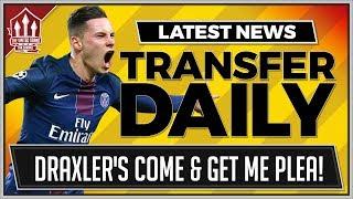 Download Julian DRAXLER To MANCHESTER UNITED Instead of PERISIC! MAN UTD Transfer NEWS Video