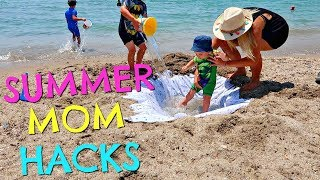 Download SUMMER MOM HACKS | SUMMER MUM HACKS | BEACH HACKS Video