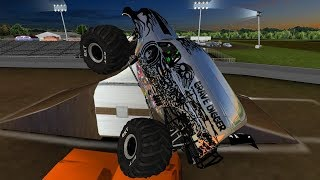 Download 16 Chrome Truck Meents Jam Freestyle - Monster Jam Rigs of Rods Video