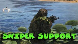 Download SNIPER SUPPORT - 4 TRIBES vs 3 TRIBES RAID   ARK: Survival Evolved (60fps) Video