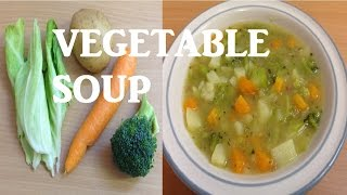 Download How to make Quick Healthy and Easy Homemade Chunky Vegetable Soup Video