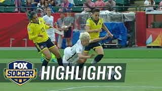 Download USA vs. Colombia - FIFA Women's World Cup 2015 Highlights Video