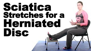 Download 5 Best Sciatica Stretches for a Herniated Disc - Ask Doctor Jo Video