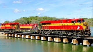 Download MUST WATCH!!! EPIC WEEK of Fast FLORIDA Railfanning on the Florida East Coast (FEC) Railway!!! Video