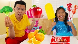 Download Yes Yes Vegetables Song | Wendy Eat Fruits & Vegetables Nursery Rhymes Kids Songs Video
