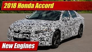 Download 2018 Honda Accord New Engines Video