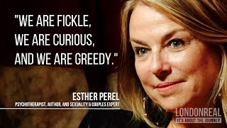Download Esther Perel Explains Why People Are Unfaithful Video