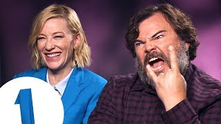 Download ″You fell in a gopher hole!″: Cate Blanchett & Jack Black answer stupid questions Video