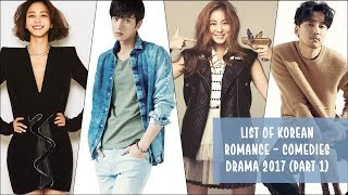 Lists of Korean Comedy - Romance Dramas 2016 | Part II Free Download