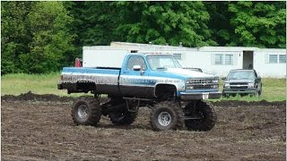 Download COUNTRY BOYS RUFF N TUFF MUD BOG PART TWO TRUCKS PLAY IN THE MUD AT MARION, MICHIGAN 7 18 2015 Video