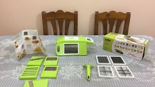 Download Vegetable Cutter Review   Famous Vegetable And Fruit Cutter & Slicer Chopper Review Video