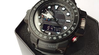 Download QUICK FUNCTIONS CASIO GULFMASTER G-SHOCK GWN-1000C-1A Video
