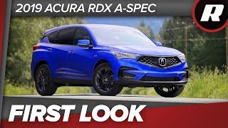 Download First Look: 2019 Acura RDX, third-gen's the charm Video