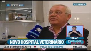 Download OneVet | Hospital Veterinário Universitário de Coimbra em reportagem, na RTP Video