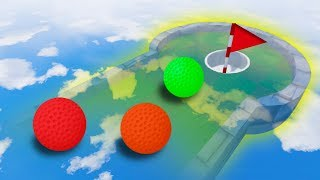 Download GOLF ON CRAZY INVISIBLE COURSE! (Golf It) Video