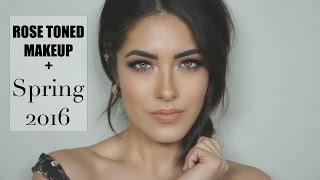 Download Rose Toned Makeup + Spring 2016 Newness | Melissa Alatorre Video