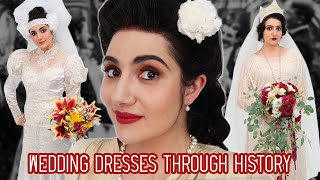 Download I Tried Wedding Dresses Through History Video