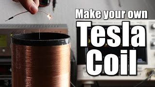 Download Make your own Tesla Coil (Part 1) || Slayer Exciter Circuit Video