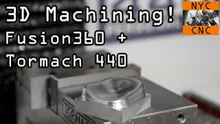 Download 3D Machining! Can we get a great surface finish? Video