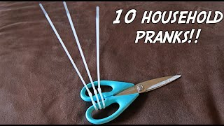 Download 10 HOUSEHOLD PRANKS - HOW TO PRANK Video