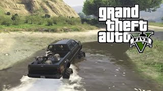 Download GTA 5 - Mudding and Hauling Four Wheeler Video