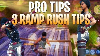 Download BEST TIPS TO BEAT RAMP RUSHERS! FORTNITE TIPS HOW TO WIN #17 Video