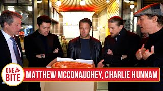 Download (Matthew McConaughey, Charlie Hunnam, Hugh Grant, Henry Golding) Barstool Pizza Review- Norm's Pizza Video