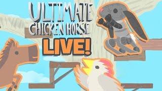 Download DONKEY & CHICKEN FUN - Ultimate Chicken Horse - Livestream! Video
