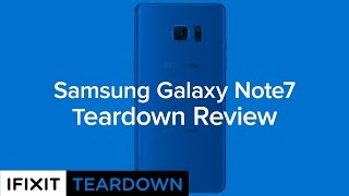 Download Samsung Galaxy Note7 Teardown Review! Video