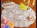 Download Dantel sehpa örtüleri. Oval Modeller & Crochet Video